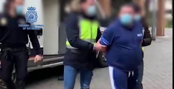 La Policía Nacional detiene a un fugitivo que tenía en vigor nueve órdenes de detención por diversos robos con fuerza y con violencia