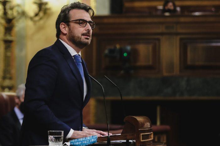 """Diego Calvo asegura en el Congreso que la Xunta """"puede gestionar la AP-9 con mayor eficacia que el Estado"""""""