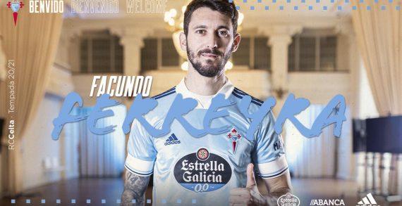 O Celta reforza o seu ataque coa chegada do dianteiro arxentino Facundo Ferreyra