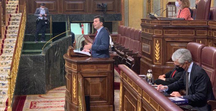 """Gonzalo Caballero no Congreso: """"Aznar prorrogou a concesión da AP-9 e Rajoy vetou debater a súa transferencia a Galicia. Cómpre avanzar na rebaixa das peaxes e o traspaso da autopista"""""""