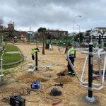 O Concello de Nigrán reforza as instalacións deportivas ao aire libre en Panxón cun circuito biosaudable
