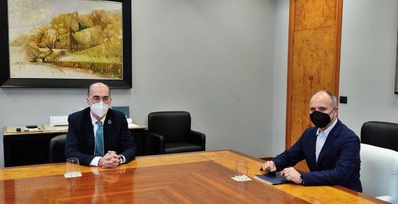 Zona Franca y Autoridad Portuaria de Vigo abogan por sumar esfuerzos para impulsar proyectos generadores de empleo en los espacios que comparten