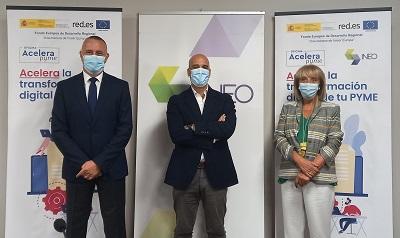 INEO impulsará la transformación digital de las empresas del Sur de Galicia a través de su nueva Oficina Acelera pyme