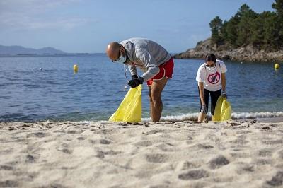 El Proyecto LIBERA caracteriza 2.800 residuos y 44 Kg de basuraleza en 21 puntos de la costa gallega
