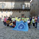 Política Social acompaña a la asociación sociocultural ASCM en el último tramo del Camino de Santiago