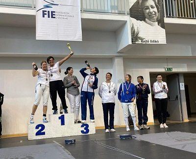 Nena Cano brilla en su retorno a la competición internacional