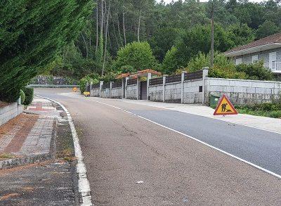 La Xunta comienza las obras de acondicionamiento de los caminos de servicio de la carretera autonómica OU-312 en el Ayuntamiento de Lobios