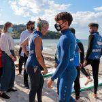 La Xunta destaca el primer Campeonato gallego de surf adaptado por dar visibilidad a la inclusión de las personas con discapacidad