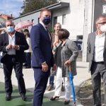 Trenor inaugura la nueva senda peatonal y ciclista entre Carral y Tabeaio que supuso una inversión de la Xunta de 153.000 euros