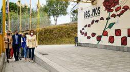 La Xunta invierte más de 410.000 € en la renovación de la cubierta del instituto de Mos