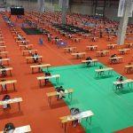El porcentaje de participación en las pruebas de la OPE del Sergas que se celebra hoy se acerca al 75%