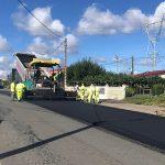 La Xunta inicia las obras de mejora del firme en la carretera AC-524, a su paso por el ayuntamiento de Frades