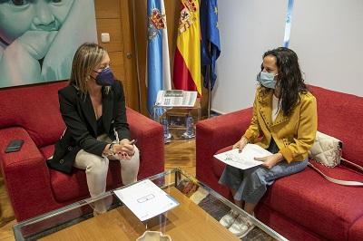 La Xunta estudiará posibles vías de colaboración con el ayuntamiento de Bande en materia de servicios sociales