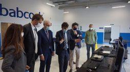 Conde acompaña al embajador británico en España en su visita al Polo Aeroespacial de Galicia