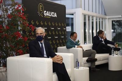 Conde asegura que la constitución de Galicia Foro Empresarial muestra que el tejido gallego afrenta desde la colaboración los retos de la economía poscovid