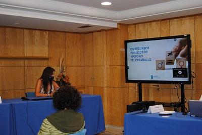 La Xunta aboga por la inclusión del teletrabajo en los planes de igualdad de las empresas para la mejora de la conciliación y de la corresponsabilidad