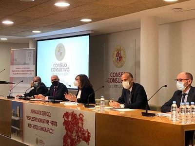 La Xunta destaca la importancia de blindar las medidas en materia de demografía a través de un marco normativo