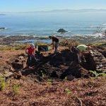 La Xunta y el grupo de arqueología de la Universidad de Vigo colaboran en Ons en la busca de vestigios de las relaciones comerciales en la época romana