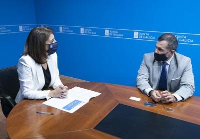 La conselleira de Medio Ambiente y el cónsul de Uruguay exploran posibles colaboraciones en materia ambiental