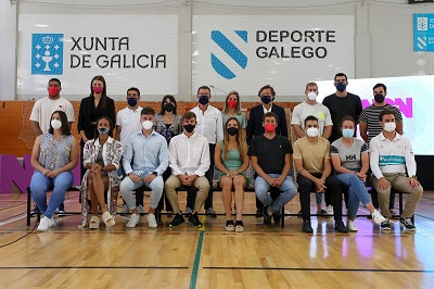Las ayudas reto con igualdad Galicia-Tokyo llegan al 100% de los deportistas olímpicos y paralímpicos que las solicitaron