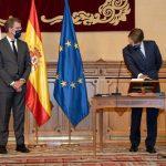 Feijóo asiste a la toma de posesión de Miguel Corgos como conselleiro de Hacienda y Administración Pública