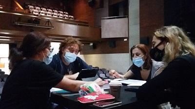 El Centro Dramático Galego y la Asociación de Actores y Actrices ofrecen una lectura dramatizada del texto ganador de la bolsa de dramaturgia y creación