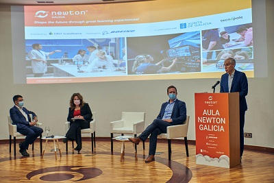 La Xunta destina 27,4 millones de euros en los presupuestos del próximo año para la consolidación del Polo Aeroespacial de Galicia