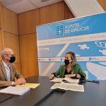 Ethel Vázquez avanza que la Xunta invertirá el próximo año 2,7 M€ en la mejora del abastecimiento de Teixeiro y del polígono industrial de Curtis