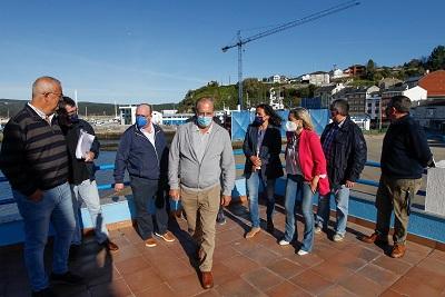 El proyecto de presupuestos de la Xunta para 2022 prevé inversiones por más de 1,2 millones de euros en el puerto de Celeiro, en Viveiro