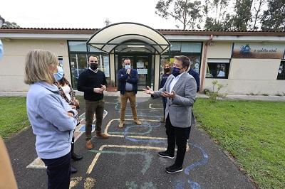 Xunta y Ayuntamiento financiarán obras de mejora en la escuela infantil de Vilaboa por un importe de 22.500 euros