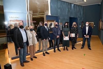 La Xunta promueve una muestra con el legado de Pardo Bazán en el Museo de Bellas Artes de A Coruña