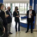 Fernández-Tapias anuncia la adjudicación en el próximo mes de noviembre de la rehabilitación integral del IES San Tomé de Freixeiro por 1 millón de euros