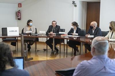 La Xunta colabora con la Universidad de Santiago en la puesta en marcha de un laboratorio de innovación y economía social