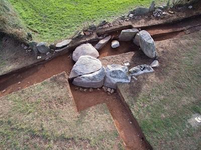 La Xunta recuperará la forma original del dolmen Altar do Sol de Lalín en tiempos neolíticos