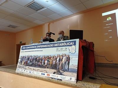 La Xunta destaca el trabajo de ASFEGA en el apoyo a las personas con enfermedades metabólicas