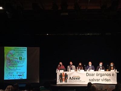 La Xunta participa en las IV Jornadas de personas con enfermedad renal crónica de Alcer Coruña
