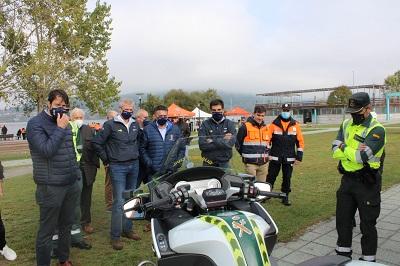 La Xunta pone en valor la labor altruista de las agrupaciones de voluntarios de Protección Civil