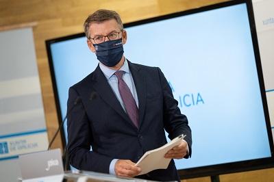 Feijóo resalta una aportación de cerca de 20 M€ para impulsar el autoconsumo y almacenamiento energético y conseguir ahorros anuales de 7 M€ en las facturas de las empresas
