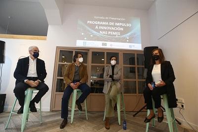 Galicia impulsa un programa específico por 12M€ para ayudar a 15000 pymes y microempresas a invertir en innovación