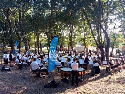El ciclo de la Xunta 'El país de las bandas' se despide mañana en O Rosal, después de recorrer más de 6000 kilómetros por toda Galicia