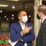 El conselleiro de Sanidade destaca que en este año se incorporaron al plantel del Sergas un total de 1.640 profesionales