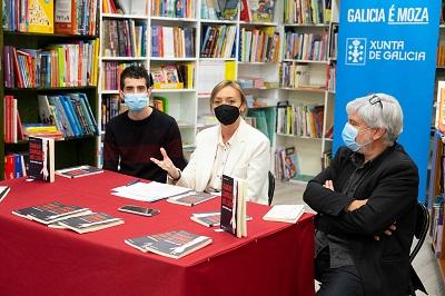 Fabiola García anima a la juventud la 'Escribir el futuro de Galicia' con los premios Xuventude Crea de Novela corta