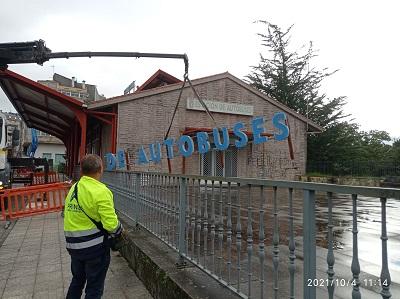 La Xunta inicia las obras de mejora y acondicionamiento de las instalaciones de la estación de autobuses de A Estrada