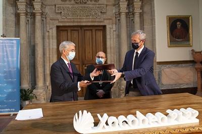 La Xunta colabora con el Arzobispado de Santiago en la puesta en valor del patrimonio con la apertura de iglesias en el camino