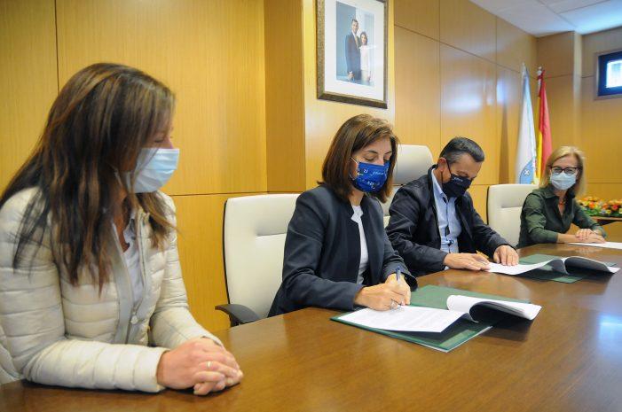 La Xunta y el Ayuntamiento de Piñor colaborarán en la construcción de un edificio de usos múltiples en el municipio, con una inversión de más de medio millón de euros