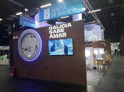 La Xunta promociona los productos del mar en la feria alemana Anuga con la campaña 'GALICIA SABE AMAR'